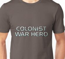 Mass Effect Origins - Colonist War Hero Unisex T-Shirt