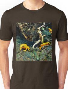 Orange frogs Unisex T-Shirt