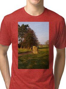 Long Meg Stone Circle Tri-blend T-Shirt