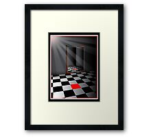 Refective Space Framed Print