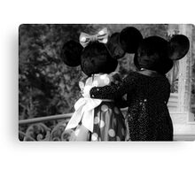 Mickey & Minnie Canvas Print