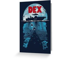 Dex Greeting Card