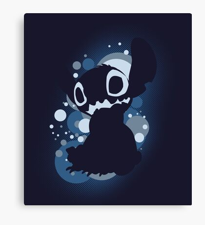 Stitch bubble Canvas Print