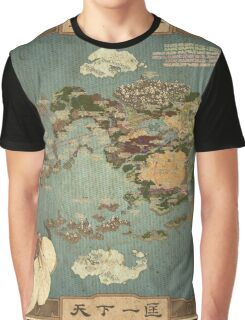 Avatar Map Graphic T-Shirt