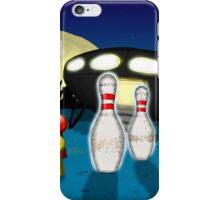 Alien intruders iPhone Case/Skin