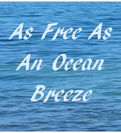 Ocean Breeze  Sticker