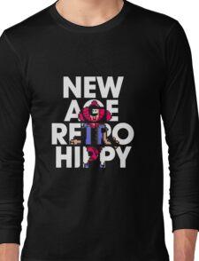 New Age Retro Hippy Long Sleeve T-Shirt