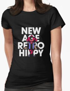 New Age Retro Hippy Womens Fitted T-Shirt
