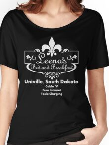 Leena's Bed and Breakfast Women's Relaxed Fit T-Shirt