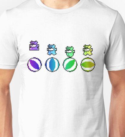 Angry Rainbow Beach Ball Bears Unisex T-Shirt