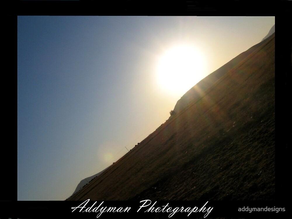 Slanted Sunset by addymandesigns