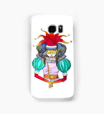 Christmas in Venice : Court Jester Samsung Galaxy Case/Skin