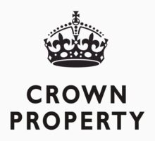CROWN PROPERTY, THE QUEENS, BRITISH, UK, ENGLAND by TOM HILL - Designer