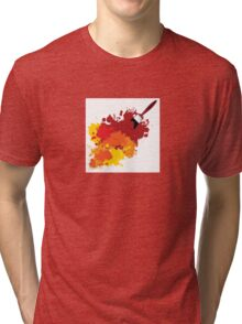Paint splat Tri-blend T-Shirt