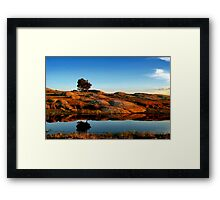 """Reflections at the Rocks!!"" Framed Print"