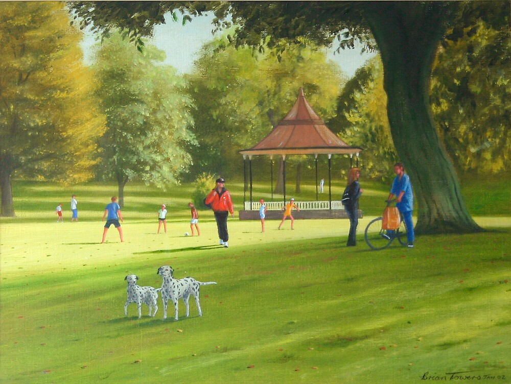 Romance in the Park by Brian Towers