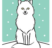 White Fox by zoel