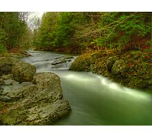 Mount Tabor River Photographic Print
