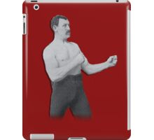 Overly Manly Man meme boxer iPad Case/Skin