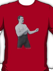 Overly Manly Man meme boxer T-Shirt
