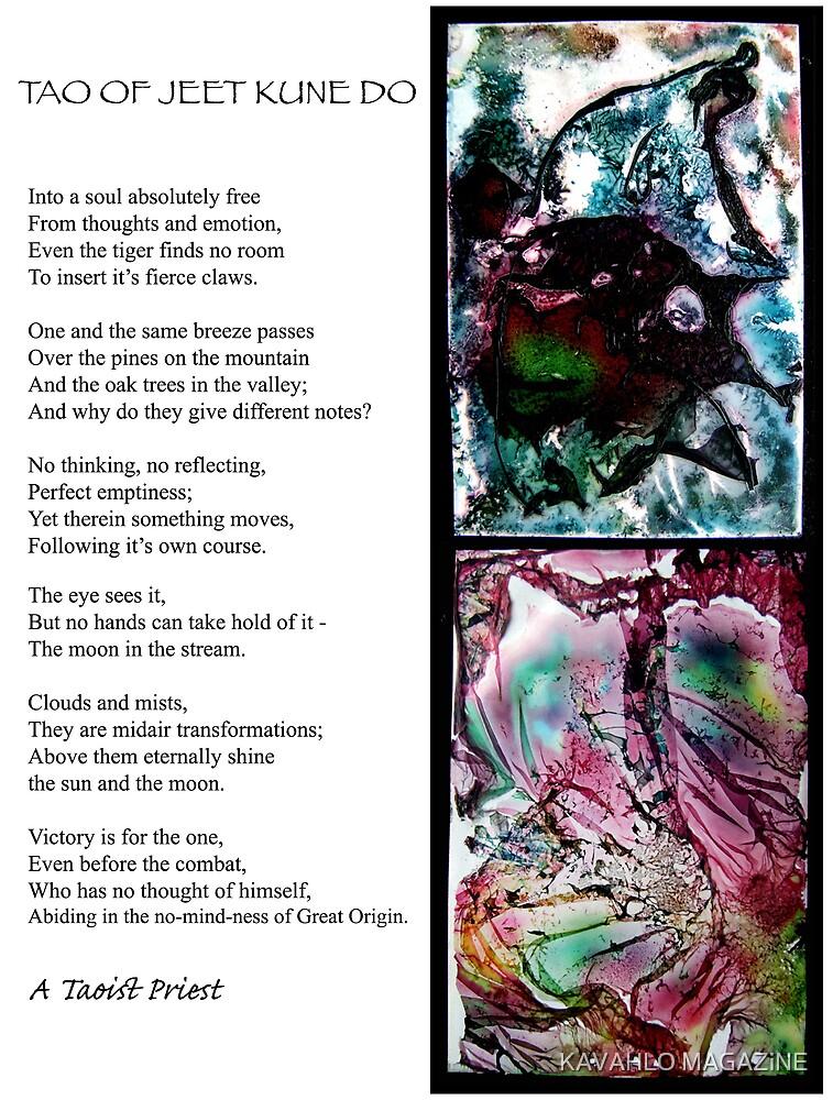 TAO OF JEET KUNE DO by KAVAHLO MAGAZiNE