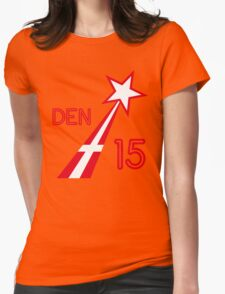 DENMARK STAR Womens Fitted T-Shirt
