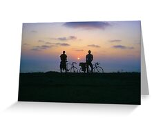 End of a Great Day Greeting Card