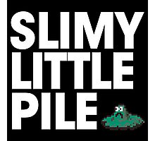 Slimy Little Pile Photographic Print