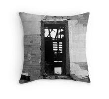 1850's upstairs door Throw Pillow