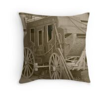 Mail Delivery Throw Pillow