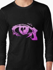 Eye Cry [Violet] Long Sleeve T-Shirt