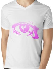Eye Cry [Violet] Mens V-Neck T-Shirt