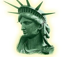 Statue of Liberty; USA; New York; America, Americana, American by TOM HILL - Designer