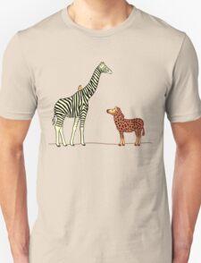 Ziraffe and gebra T-Shirt