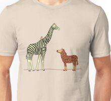 Ziraffe and gebra Unisex T-Shirt