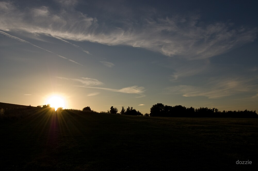 Sun down at the Heath by dozzie