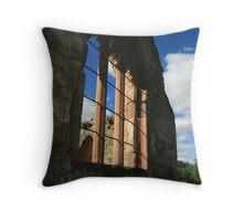 Chapel Window Throw Pillow