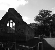Ruined Chapel II by Justine Humphries