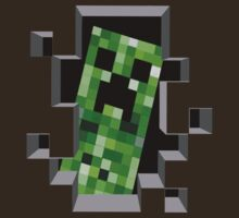 """Ehii, you!"" Creeper - Minecraft by marcoluigi92"
