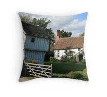 Brockhampton Manor House II Throw Pillow