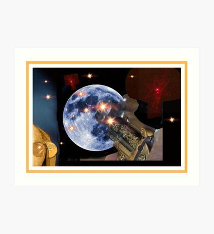 Shoot The Moon ! Art Print