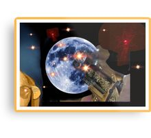 Shoot The Moon ! Metal Print