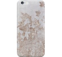 Plane Leaves, pale iPhone Case/Skin