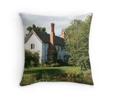 Brockhampton Manor House III Throw Pillow