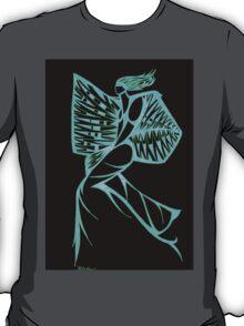 Blue Warrior Princess  T-Shirt