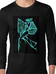 Blue Warrior Princess  Long Sleeve T-Shirt