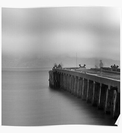 Golden Gate Park Pier Poster