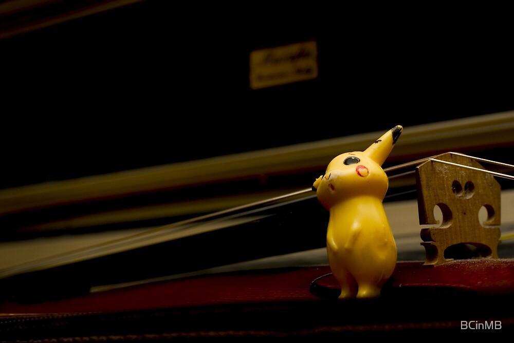 Pikachu by BCinMB