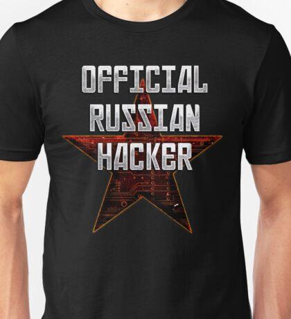 Official Russian Hacker Unisex T-Shirt