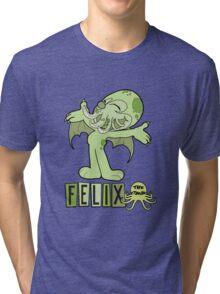 Felix the Cthulhu Tri-blend T-Shirt